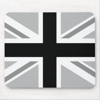 Union Jack/Flag Monochrome Mouse Pad