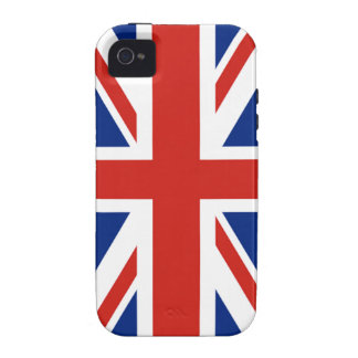 Union Jack - Flag of Great Britain Vibe iPhone 4 Covers
