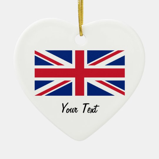 Union Jack Flag of Great Britain Hanging Ornament