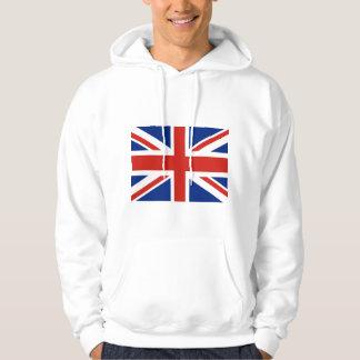 Union Jack - Flag of Great Britain Hooded Sweatshirts
