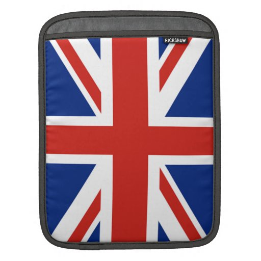 Union Jack - Flag of Great Britain Sleeve For iPads