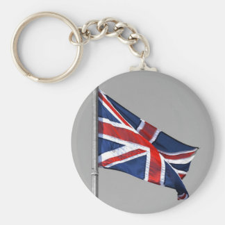 Union Jack Flag of Great Britain Keychain