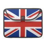 Union Jack - Flag of Great Britain MacBook Pro Sleeves