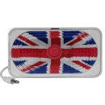 Union Jack Flag Of Great Britain Speaker Doodle Portable Speaker