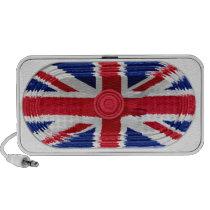 Union Jack Flag Of Great Britain Speaker Doodle Portable Speaker  at Zazzle