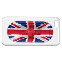 Union Jack Flag Of Great Britain Speaker iPhone 5 Cover For  iPhone 5C at Zazzle