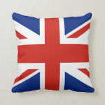 Union Jack - Flag of Great Britain Throw Pillows