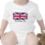 Union Jack Flag of Great Britain Toddler Infant Bodysuits