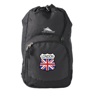 Union Jack flag of  London,England. Backpack