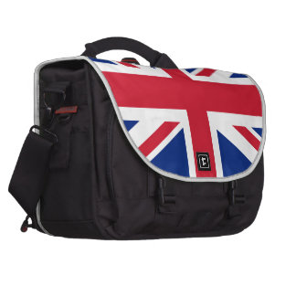 Union Jack flag of the UK - Authentic version Bag For Laptop