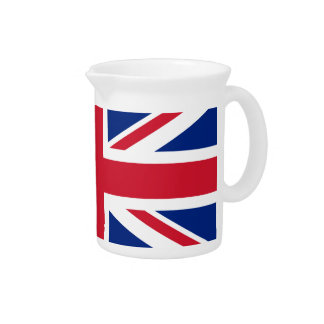 Union Jack flag of the UK - Authentic version Pitchers