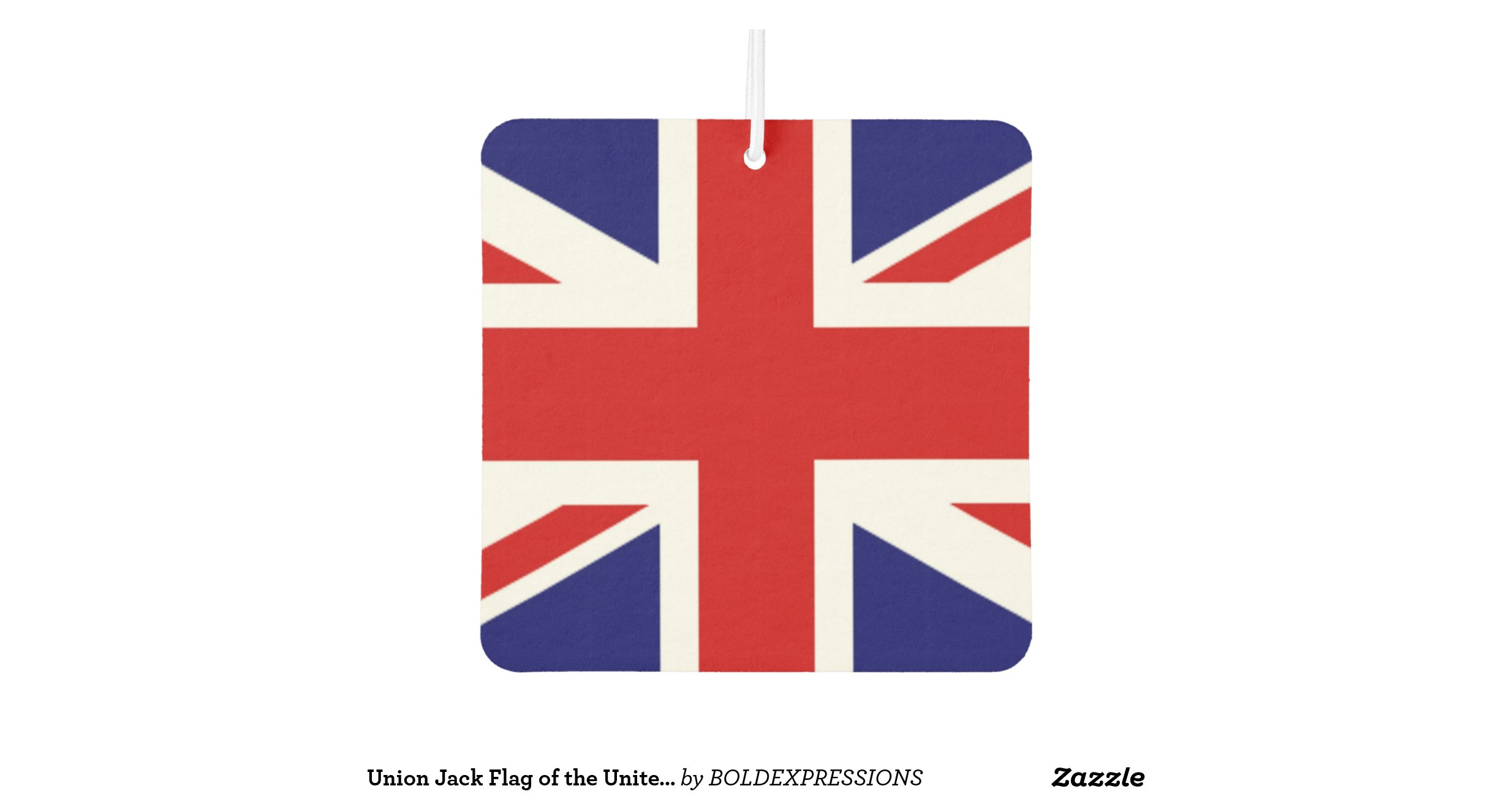 Union jack flag of the united kingdom zazzle for Ohrensessel union jack