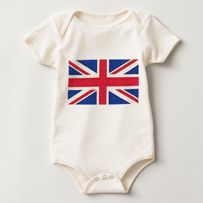Union Jack - Flag of the United Kingdom Baby Bodysuit