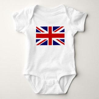 Union Jack Flag of the United Kingdom Baby Bodysuit