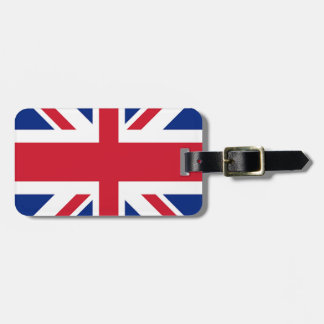 Union Jack - Flag of the United Kingdom Bag Tag