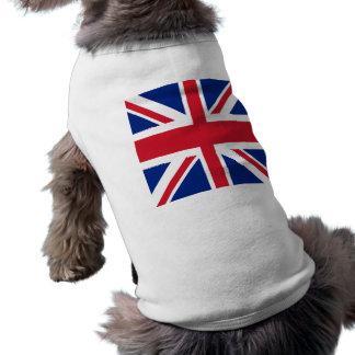 Union Jack - Flag of the United Kingdom Doggie Tee Shirt