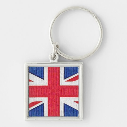 Union Jack - Flag of the United Kingdom Keychain