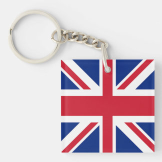 Union Jack - Flag of the United Kingdom Keychains