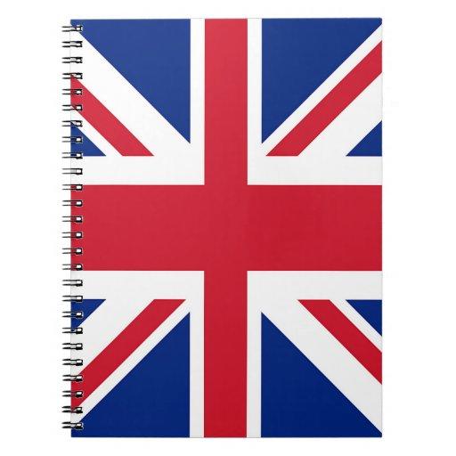 Union Jack - Flag of the United Kingdom Notebook
