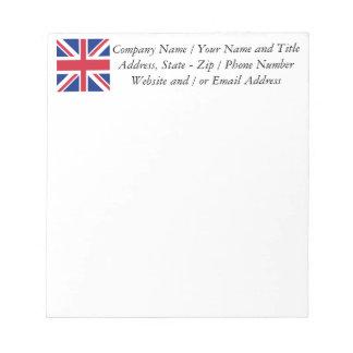 Union Jack - Flag of the United Kingdom Notepad