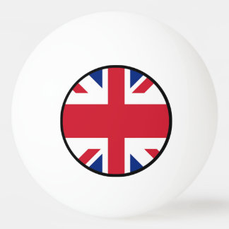 Union Jack - Flag of the United Kingdom Ping-Pong Ball