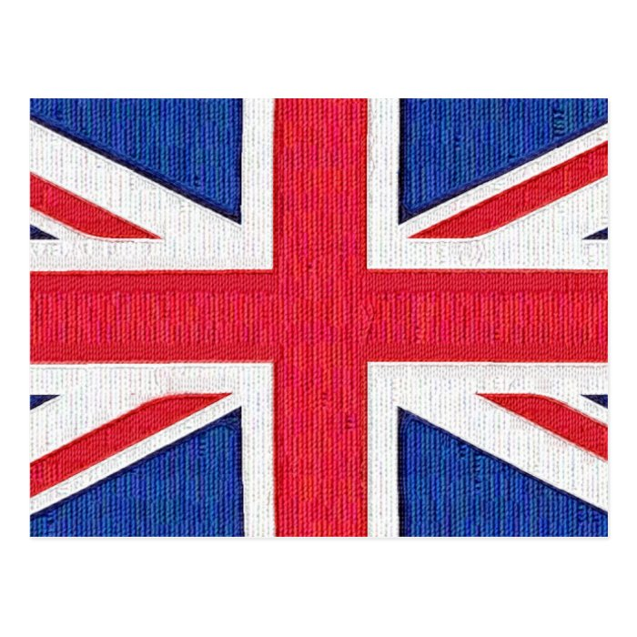 Union Jack - Flag of the United Kingdom Postcard