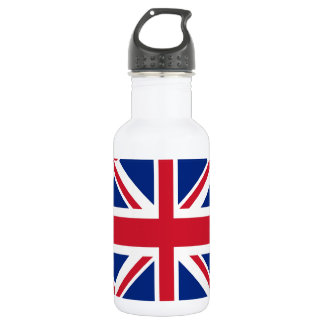 Union Jack - Flag of the United Kingdom Stainless Steel Water Bottle