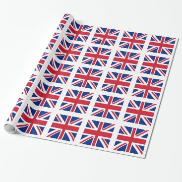 Crazy4Flags Union Jack - Flag of the United Kingdom Wrapping Paper