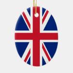 Union Jack Flag Ornaments