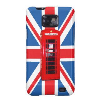 Union Jack/Flag & Phone Box Design Galaxy S2 Cover