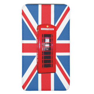 Union Jack/Flag & Phone Box Design Galaxy S5 Pouch