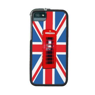 Union Jack Flag Phone Box Design iPhone 5 Case