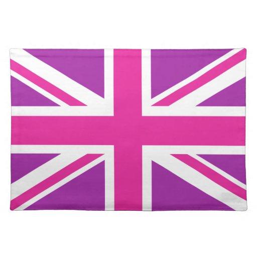 Union Jack Flag Pink Purple amp White Placemat Zazzle : unionjackflagpinkpurplewhiteplacemat r122ac4fdfb6f4d1a835b597701b06dc12cfku8byvr512 from www.zazzle.com size 512 x 512 jpeg 35kB