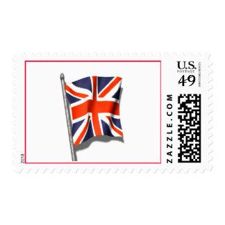 Union Jack Flag Postage Stamp