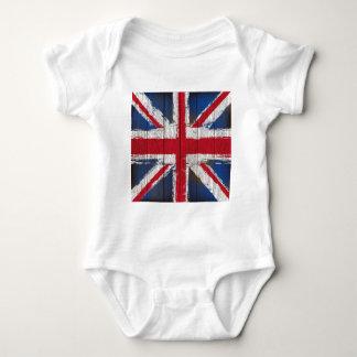 Union jack  Flag products Baby Bodysuit