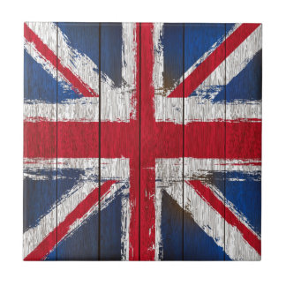 Union jack  Flag products Small Square Tile