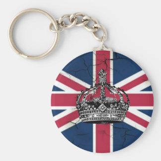 Union Jack Flag Queen of England Diamond Jubilee Keychain