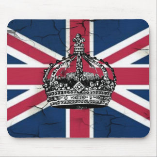 Union Jack Flag Queen of England Diamond Jubilee Mouse Pad