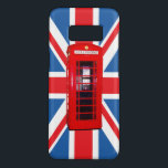 "Union Jack/Flag &amp; Red Phone Box Design Case-Mate Samsung Galaxy S8 Case<br><div class=""desc"">Union flag (also known as the Union Jack); British flag in a design with the British red telephone box.</div>"