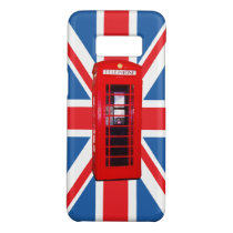 Union Jack/Flag & Red Phone Box Design Case-Mate Samsung Galaxy S8 Case