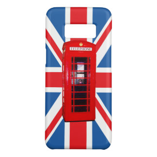 Union Jack/Flag & Red Phone Box Design Case-Mate Samsung Galaxy S8 Case