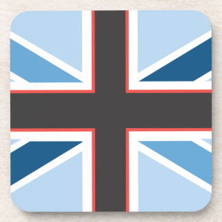 Union Jack Flag Set of 6 Coasters