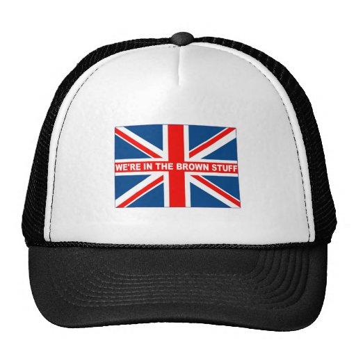 Union Jack flag shirts Trucker Hat