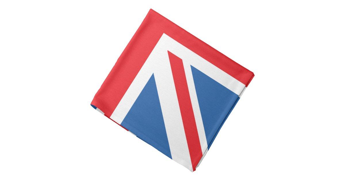 Schoudertas Union Jack : Union jack flag square design bandana zazzle