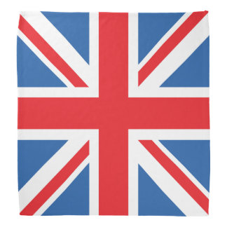 Union Jack/Flag Square Design Bandanna