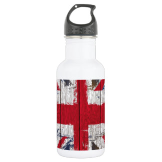 Union jack  Flag Stainless Steel Water Bottle