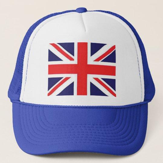 Union Jack Flag Trucker Hat
