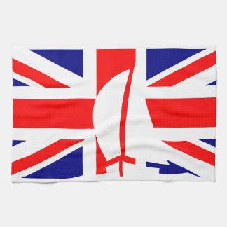 Union Jack Flag U.K. Nautical Sailing Yacht Towel