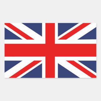 Union Jack Flag-United Kingdom Rectangular Sticker