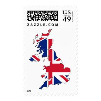 Union Jack Flag United Kingdom Stamp